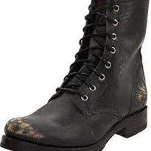 Frye combat boots